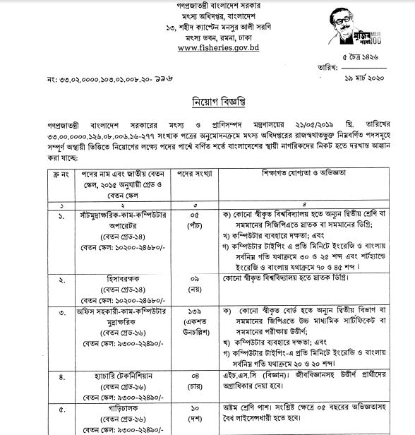 DOF-published-new-job-circular-in-March-2020-(2)